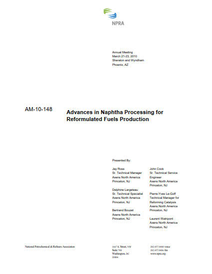 Thumb_Technical Article - Advances in Naphtha Processing_1