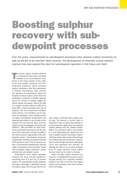 Thumb_Technical Article - Boosting Sulphur Recovery with sub-dewpoint processes_1