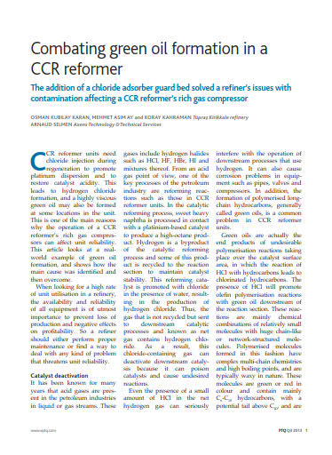 Thumb_Technical Article - Combating green oil formation in a CCR reformer_1