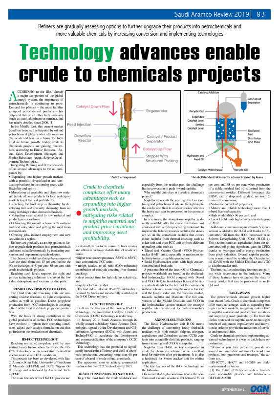 Thumb_Technical Article - Technology advances enable crude to chemicals_1