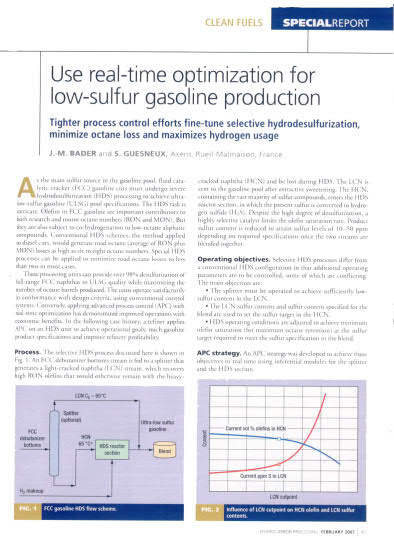 Thumb_Technical Article - Use real-time optimization for low-sulfur gasoline_1