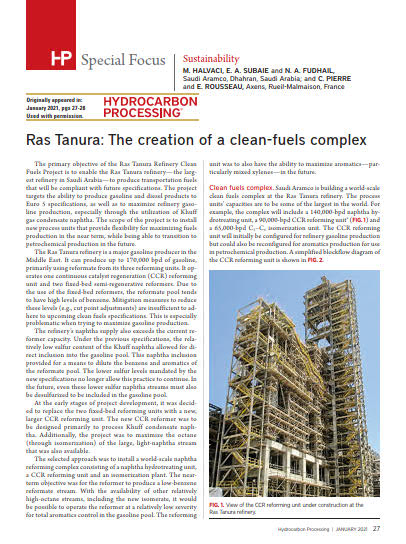 Thumb_Technical article - Ras Tanura The creation of a clean-fuels complex_1