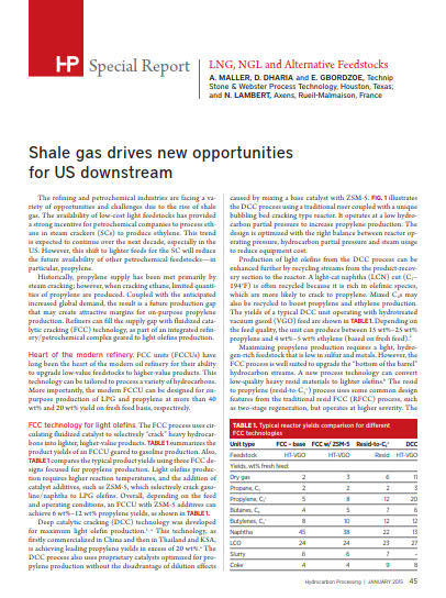Thumb_Technical article - Shale gas drives new opportunities for US downstream_1